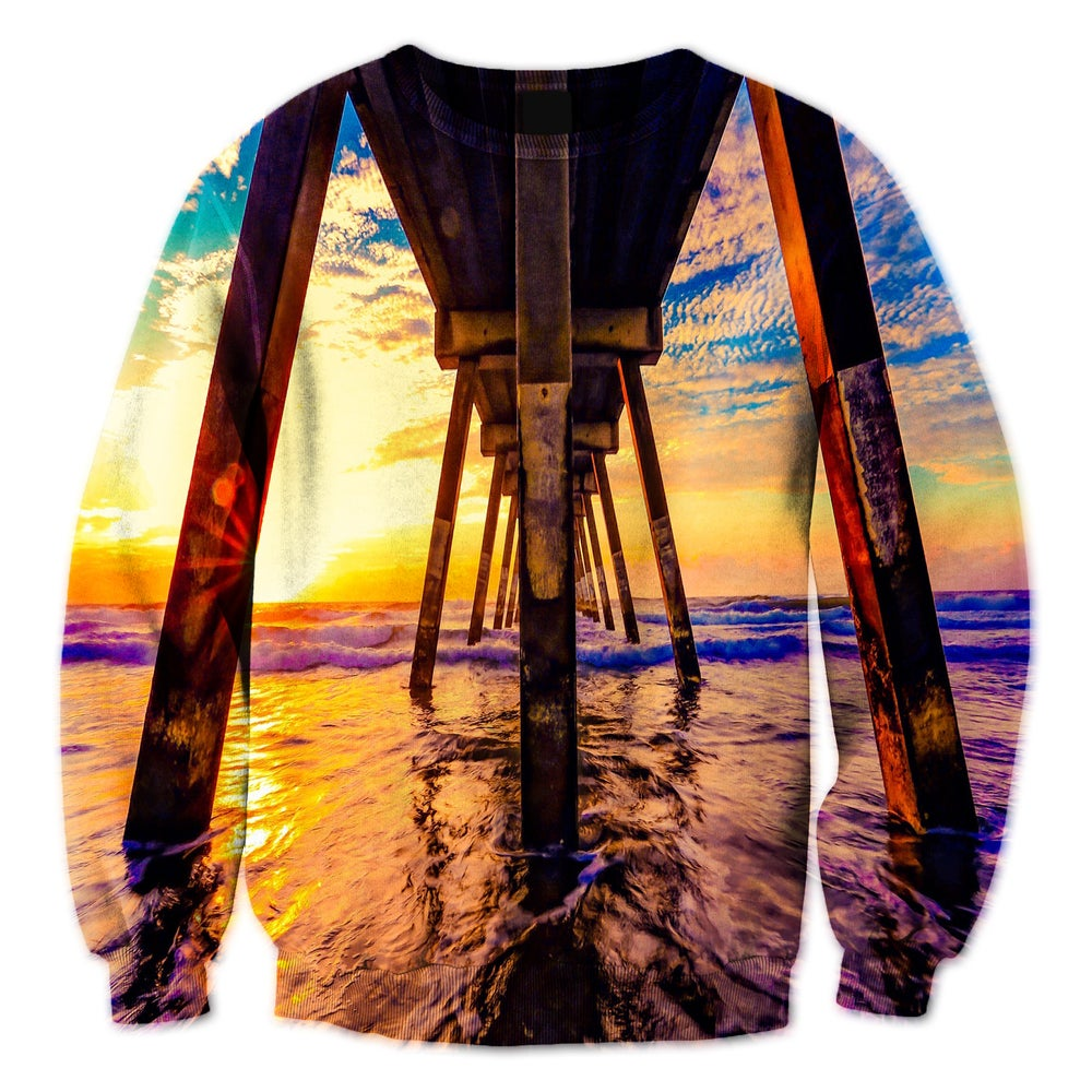 Image of Sunset Pier Crewneck