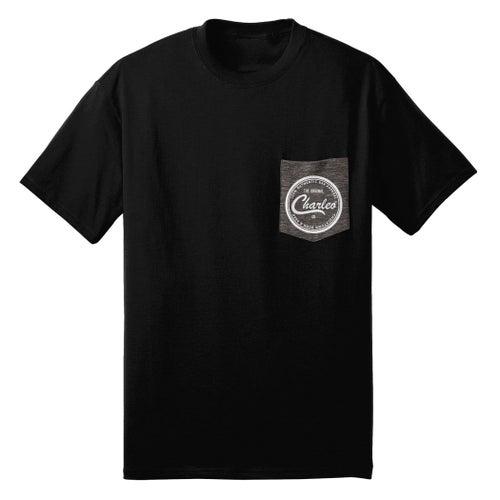 Image of The Original Charleo Contrast Pocket Tee