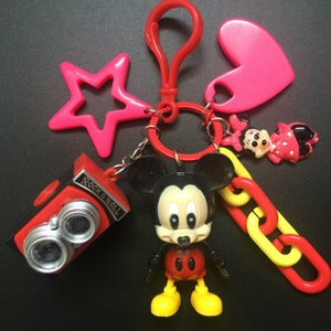 Image of Cartoon Keychain