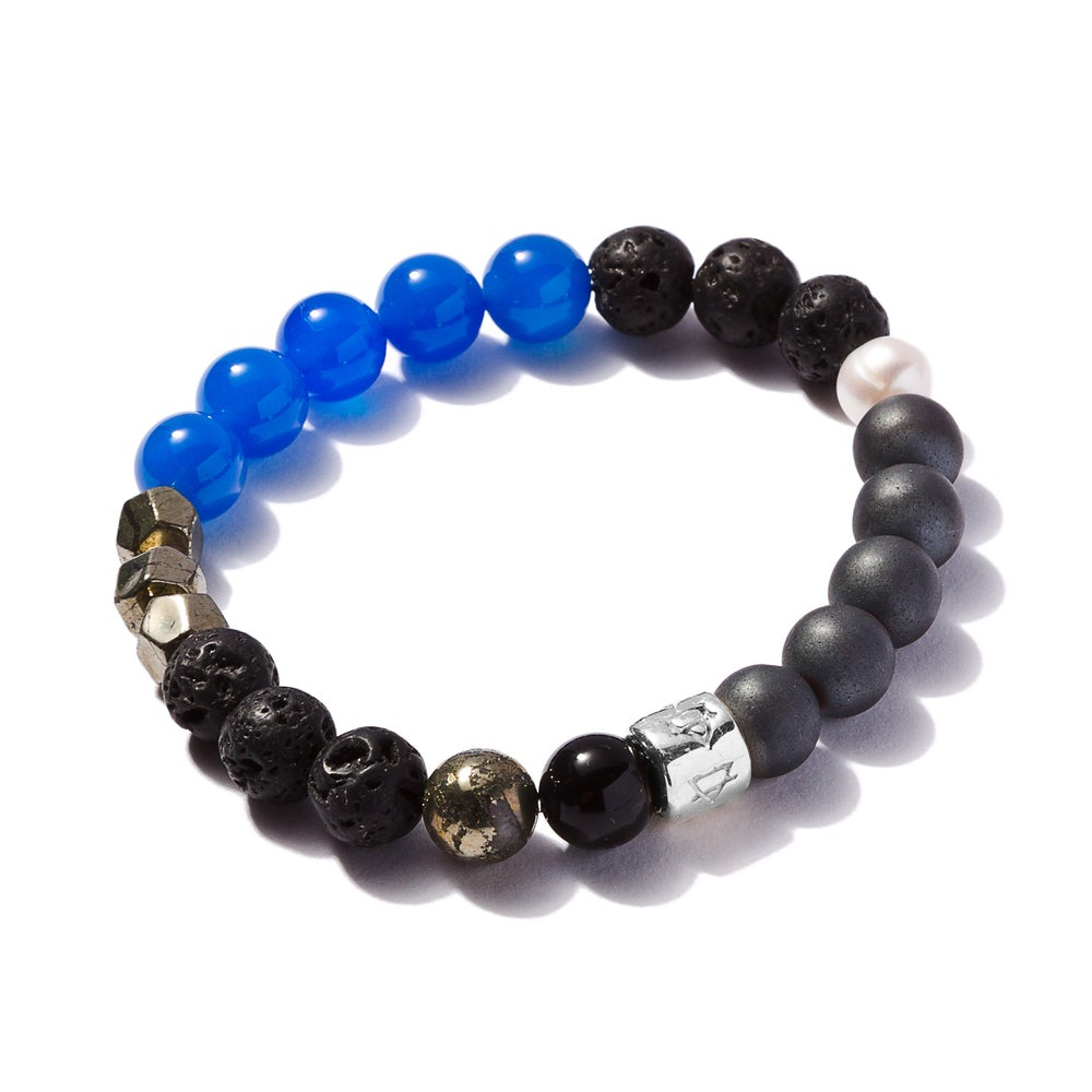 Image of Signature Bracelet Blue Agate