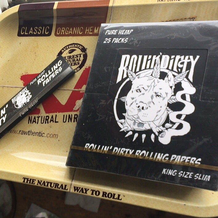 Image of ROLLIN' DIRTY ROLLING PAPERS (1 box)
