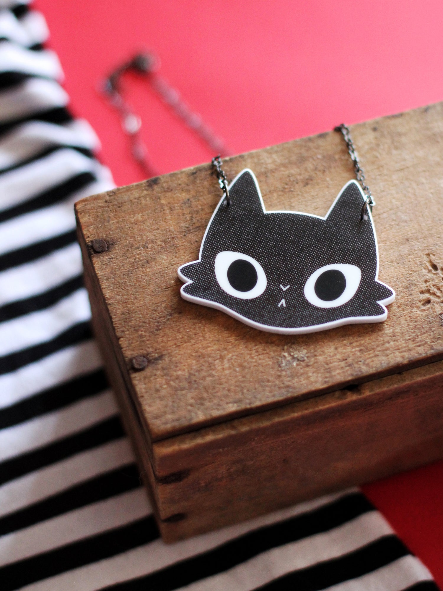 Image of Monsieur Coal Black - Necklace