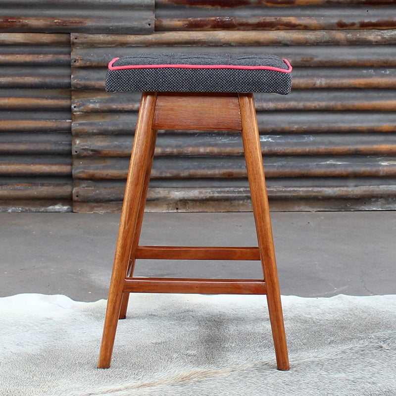 Image of Black Blossom TH Brown Stool