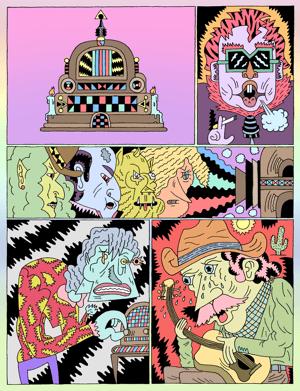 Lumpen #126  3rd Annual Comics Issue