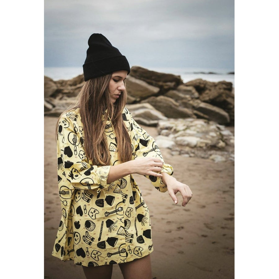 """Image of Camisa Oversize """"Funny Girl"""" (2Colores)"""