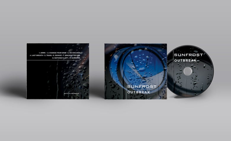 """Image of SUNFROST CD """"OUTBREAK"""" out 1st december 2015"""