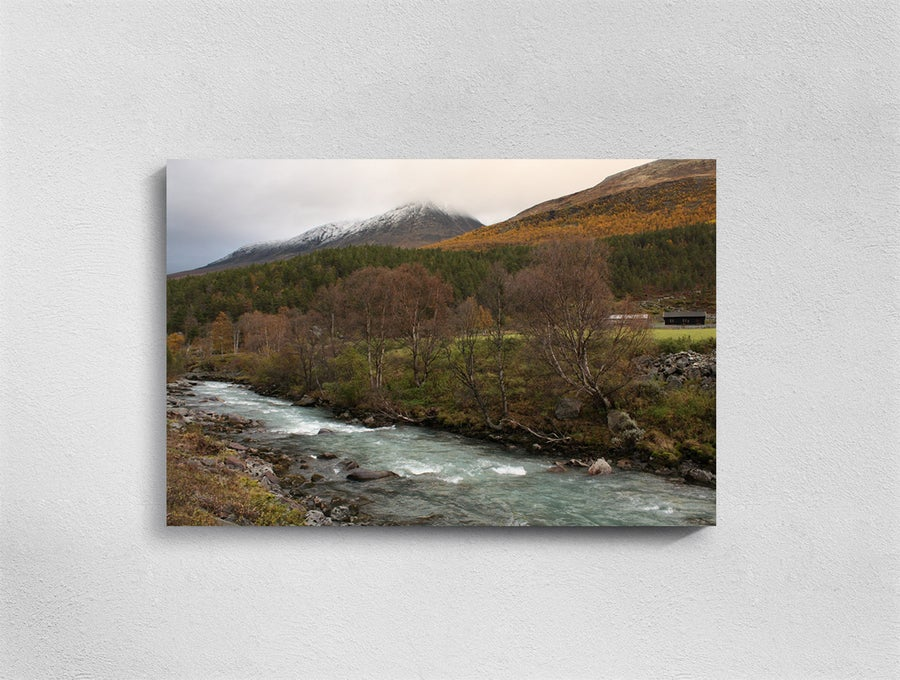 Image of Norway, Lom, Print