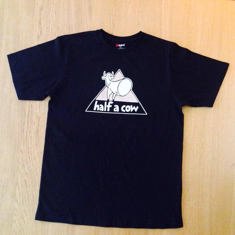 Image of Half A Cow T-Shirt - Black