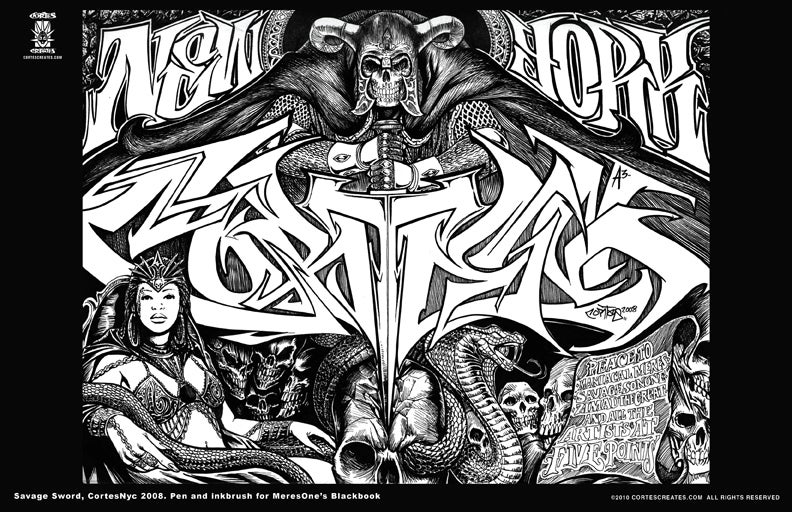 Image of Savage Sword (poster)