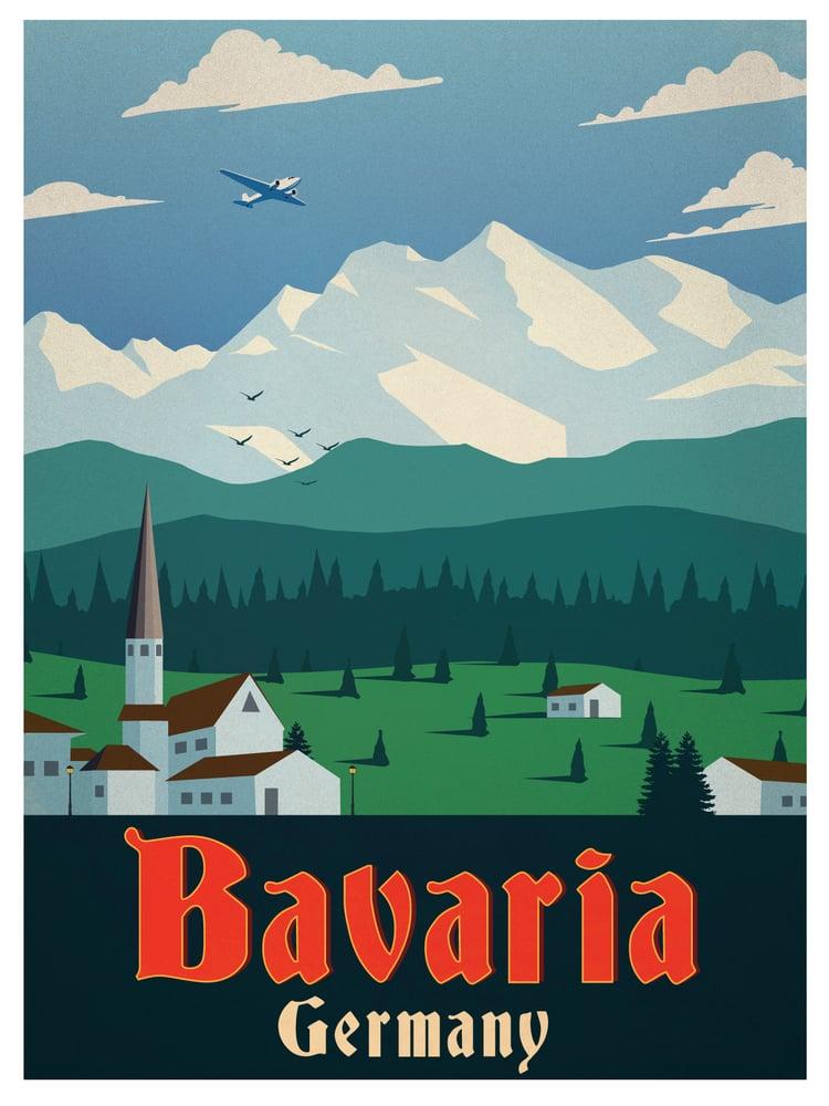Image of Vintage Bavaria Poster