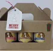Image of Gift Pack - 3 x 200g Honey Lady honeys (2 plain, 1 spiced)