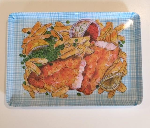 Image of Dawn Tan fish 'n chips