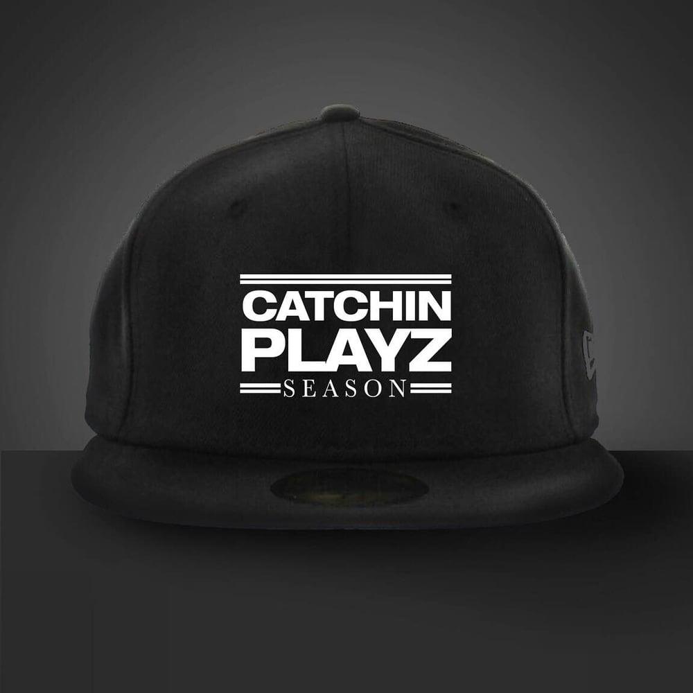 Image of Catchin Playz Yupoon Snapback