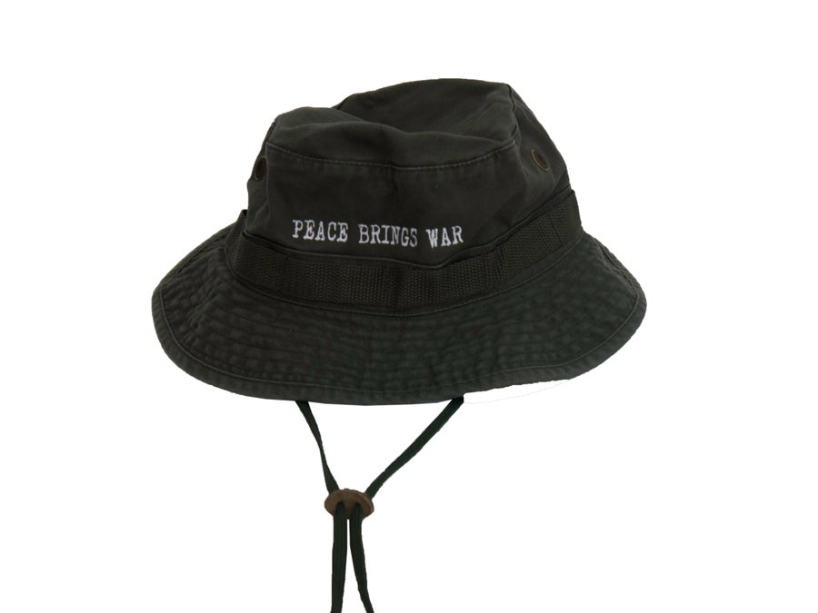 Image of Peace Brings War Bucket Hat