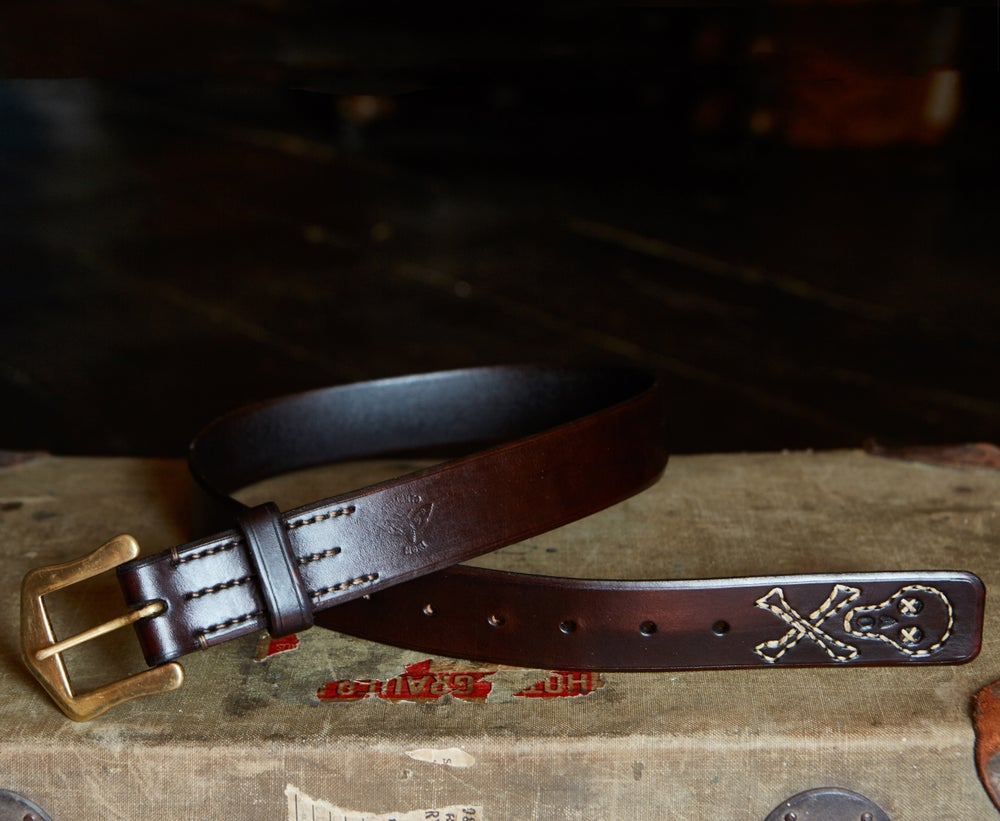Image of 'Memento mori' Belt