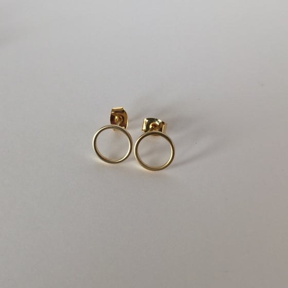 Image of Circle Earrings