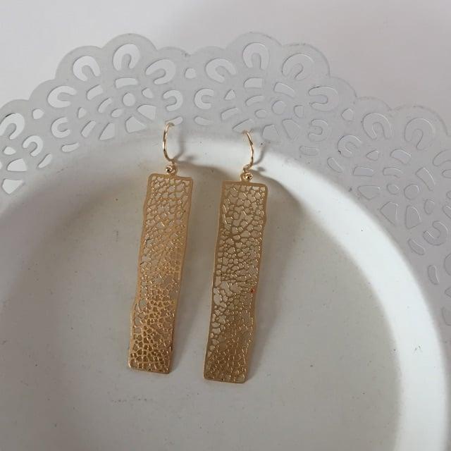Image of Rectangle Earrings