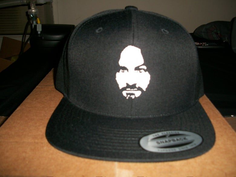 Image of CULT LEADER CLOTHING EMBROIDERED CHARLIE SNAPBACK (IN STOCK)