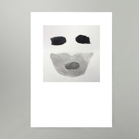 Image of By Hand : Mask Art Print
