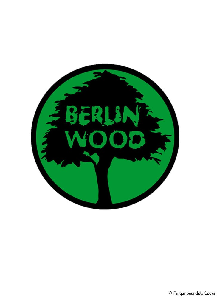 Image of Berlinwood Sticker Green