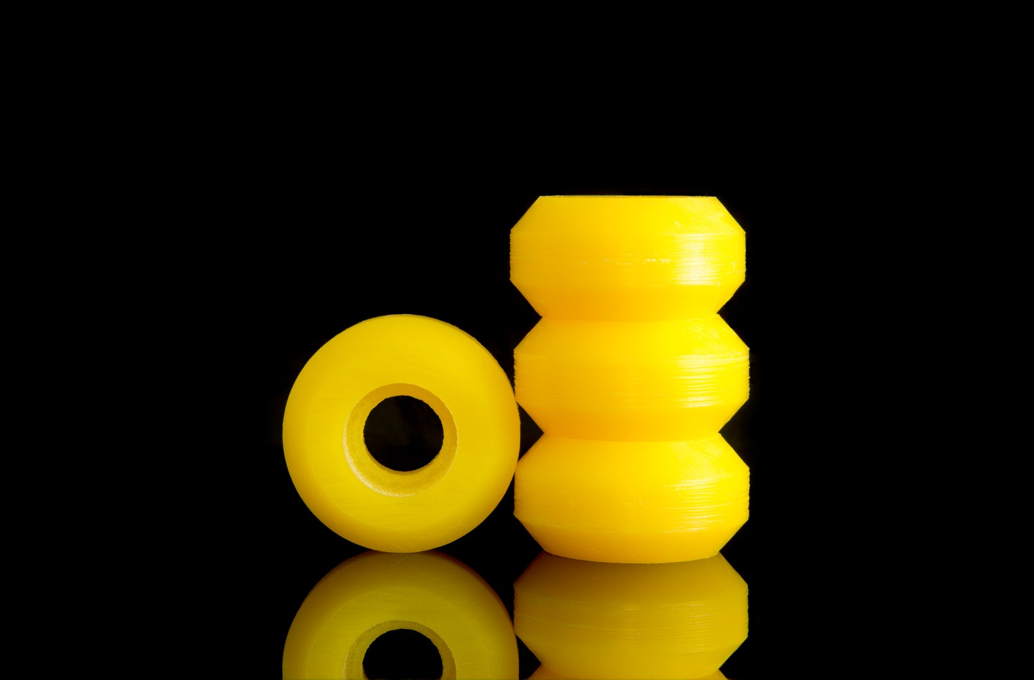 Image of YELLOW: Moonshine UHMW Custom Anti Rockers
