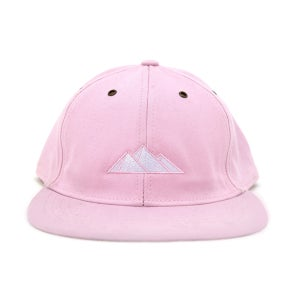 Image of Pyramid Logo Hat (Pink)