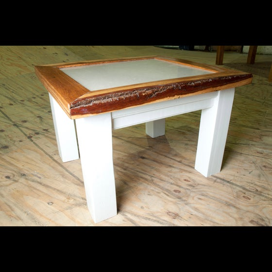 Image of Marble Oak Coffee Table
