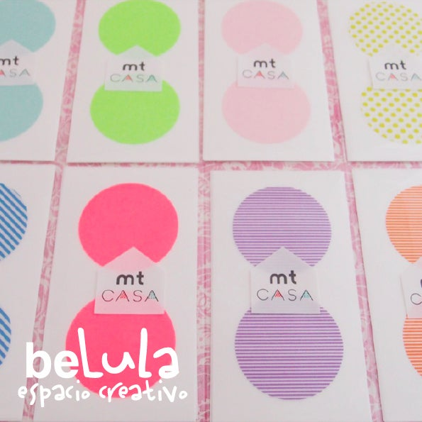 Image of Washi tape: MT Casa Seal círculos
