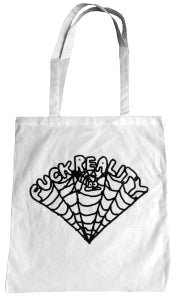 Image of Fuck Reality Bag - 02 - white