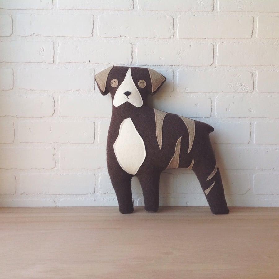 Image of custom animal pillow