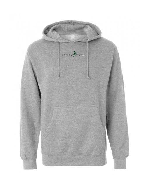 Image of Heather Gray Habitat Flats Hoodie