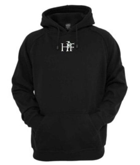 Image of Black HF Hoodie