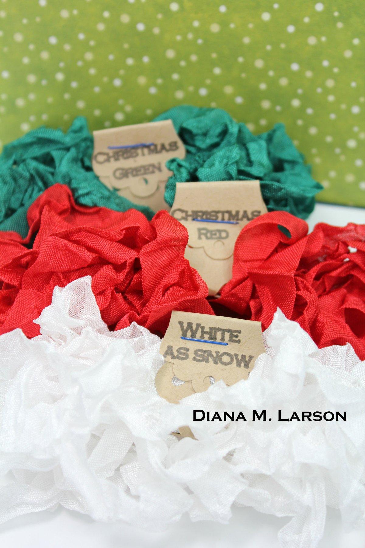 Image of Traditional Christmas Bundle, Crinkle ribbon