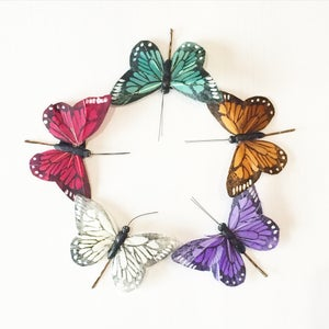 Image of Medium Butterfly Hairclips *BACK SOON*