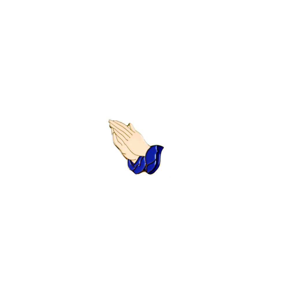 "Image of ""Praying Hands"" Lapel Pin"