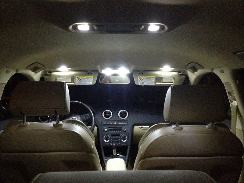 Image of Complete Interior LED Kit [Crisp White / Error Free] fits: Audi C5 A6/S6