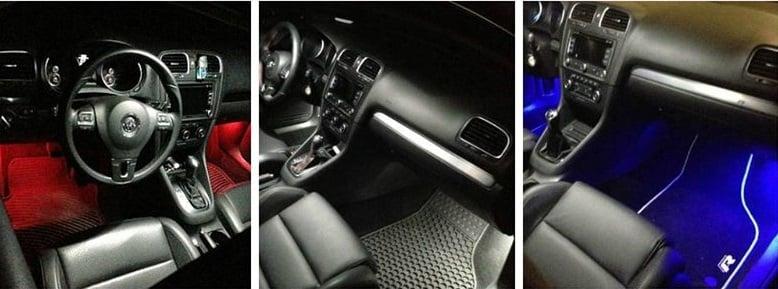 Image of Complete Interior LED Kit [Crisp White / Error Free] fits: Audi C6 A6/S6