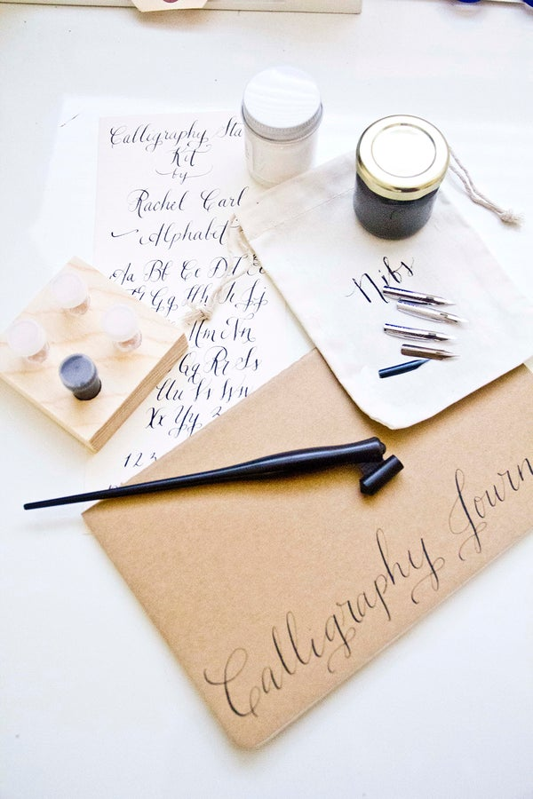 Image of Calligraphy Starter Kit with Free Name Personalization