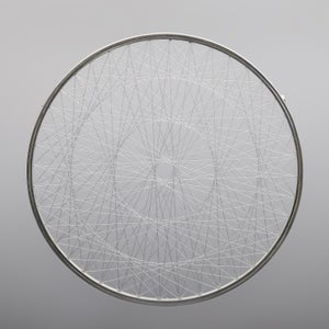 Image of Brooch / necklace 'Triple Spirograph'