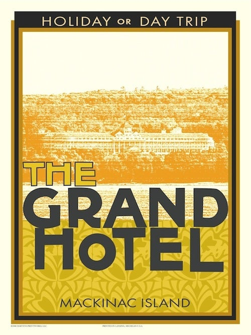 Image of Grand Hotel 18x24 Print No. [003]