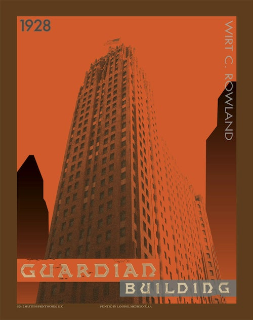 Image of Guardian Building 11x14 Print No. [024]