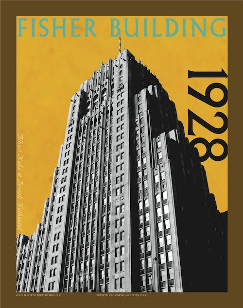 Image of Fisher Building Print No. [025]