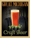 Michigan Craft Beer 11x14 Print No. [037]