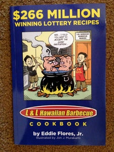 Image of $266 Million Winning Lottery Recipes: The Official L & L Hawaiian Barbecue Cookbook