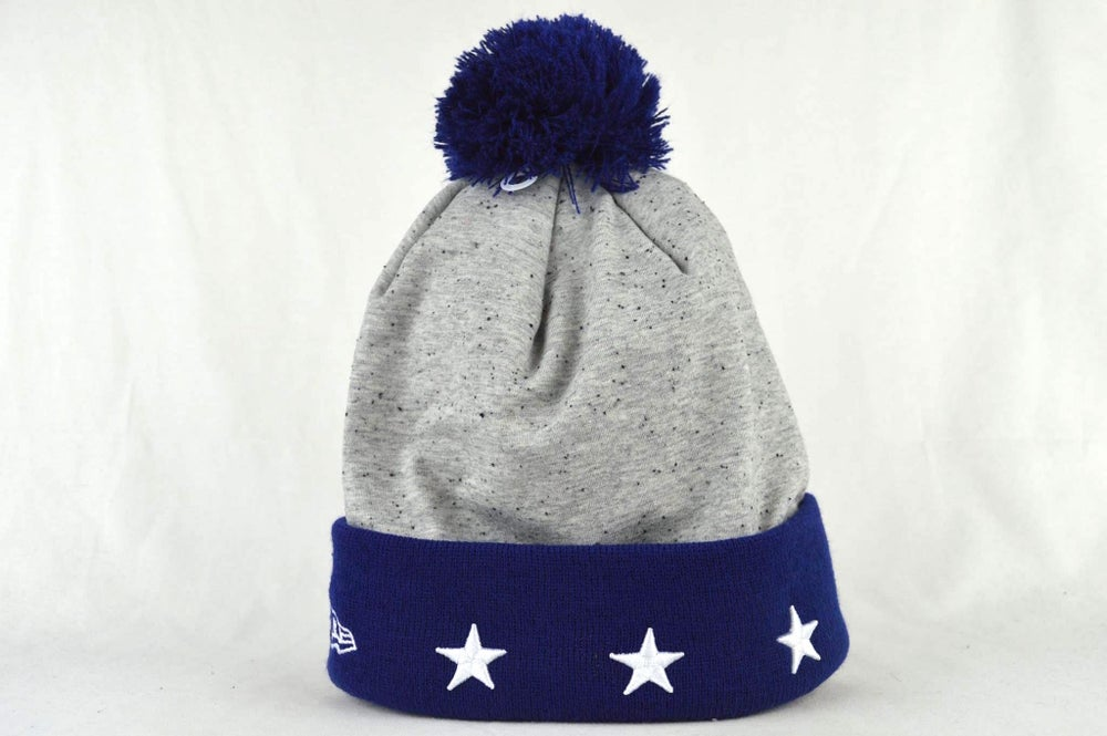 Image of LOS ANGELES DODGERS MLB HEATHER SPEC NEW ERA BEANIE