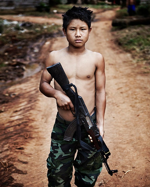 Child Soldier Fine Art Print