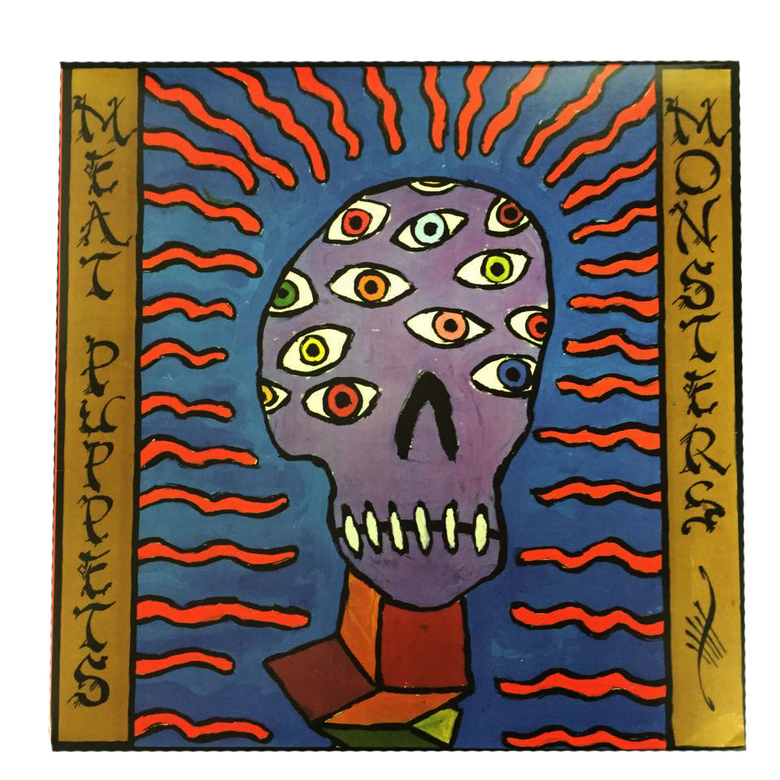 "Image of MEAT PUPPETS ""MONSTERS"" LP"
