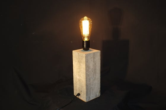 Image of Concrete Bloc Lamp (tall)