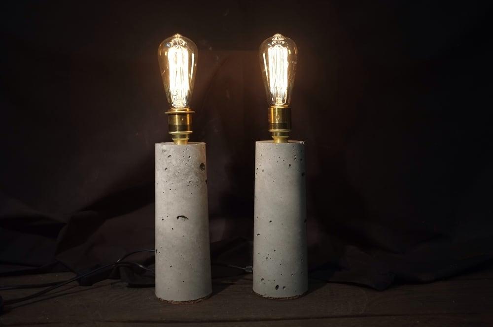 Image of Concrete Desk/Table Lamp