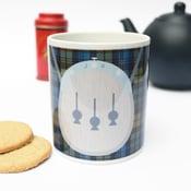 Image of Personalised tartan kilt mug